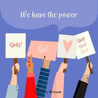 Feministisch protest