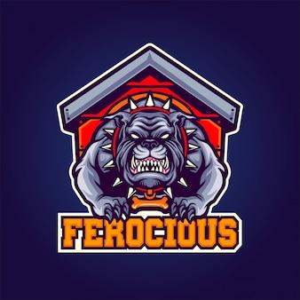 Ferocious hond