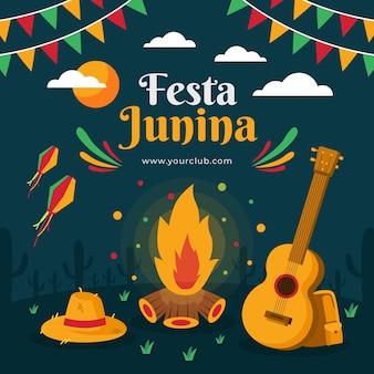 Festa junina event design