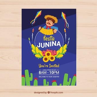 Festa junina-feestvlieger