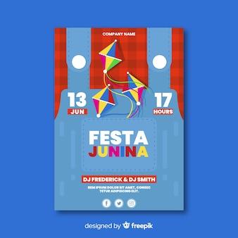 Festa junina-flyer