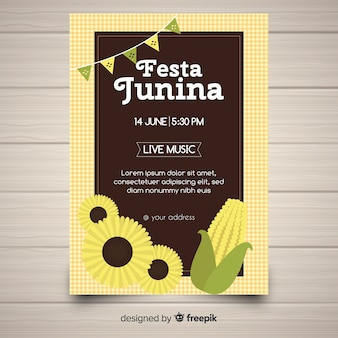 Festa junina-flyer