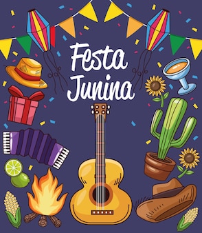 Festa junina kaart