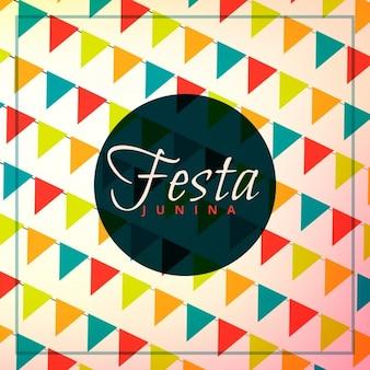 Festa junina viering achtergrond