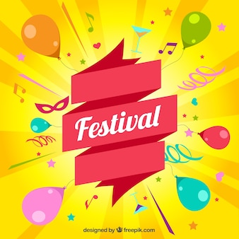 Festival kaart