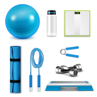 Fetness realistische set