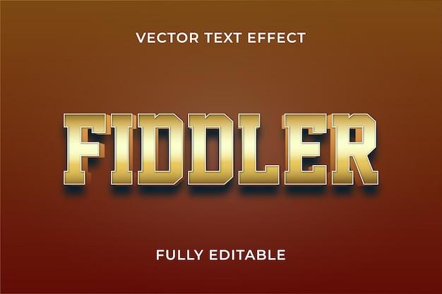 Fiddler-teksteffect eps