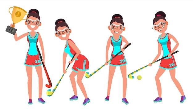Field hockey vrouw