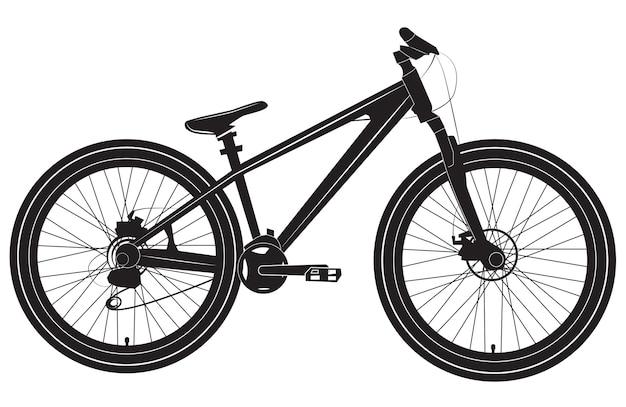Fiets fiets zwart