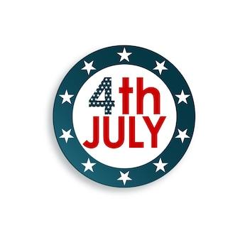 Fijne amerikaanse onafhankelijkheidsdag