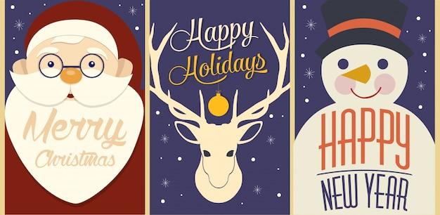 Fijne feestdagen kaart