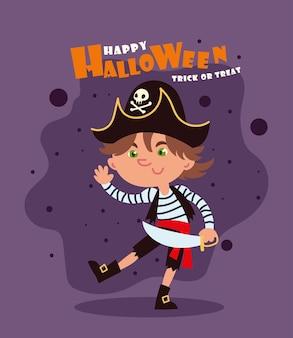 Fijne halloween trick or treat