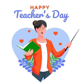 Fijne lerarendag bedankt juf