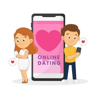 Fijne valentijnsdag, online dating-chat