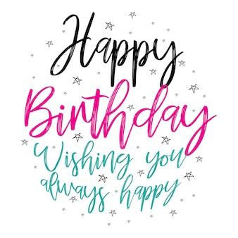 Fijne verjaardag groet