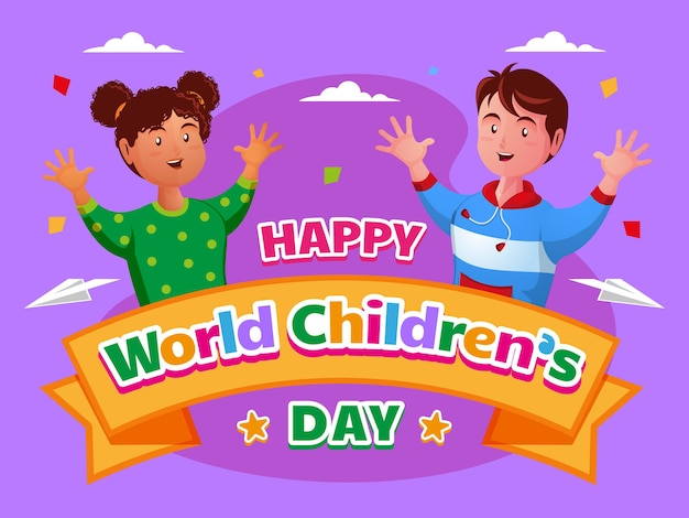 Fijne wereld kinderdag