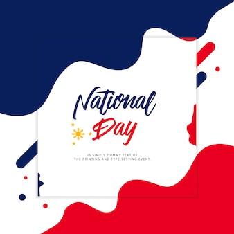 Filippijnen nationale dag illustratie