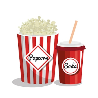 Film entertainment elementen pictogram