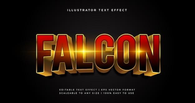 Film superheld thema tekst lettertype effect Premium Vector