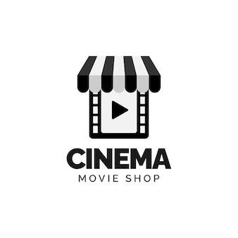 Film winkel logo ontwerpconcept