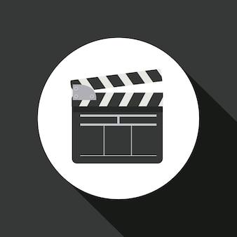 Filmklapper pictogram