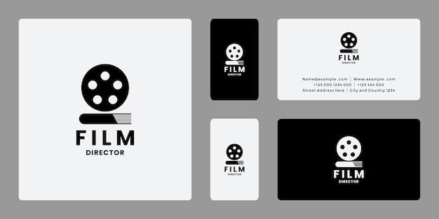 Filmregisseur logo ontwerpidee