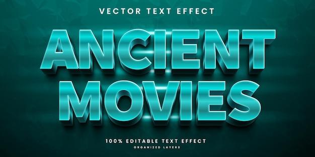 Films 3d-teksteffect