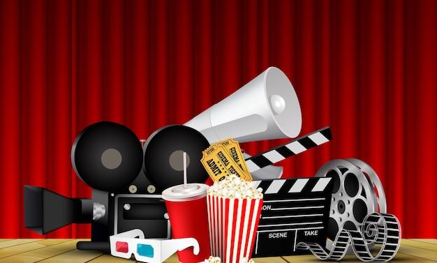 Films met rode gordijncinema's