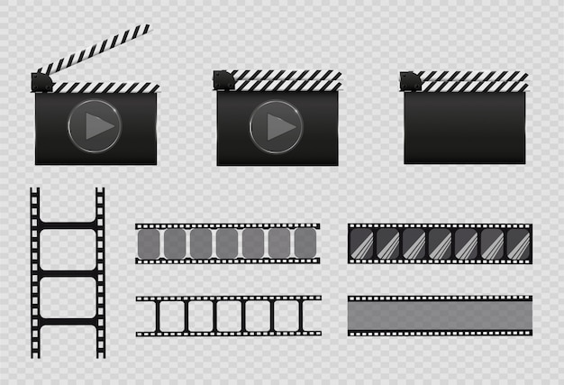 Filmstrip, illustratie. stel