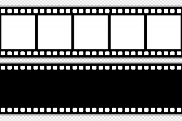 Filmstrip sjabloon