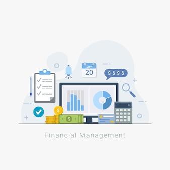 Financieel beheer en analysebedrijf