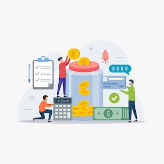 Financieel beheer en geld besparen