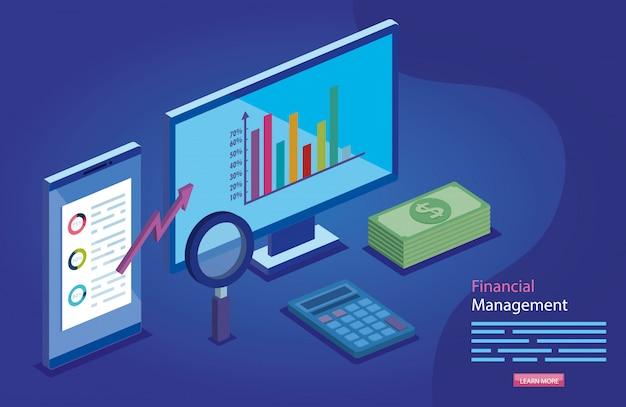 Financieel beheer met computer