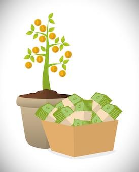 Financieel groeiontwerp