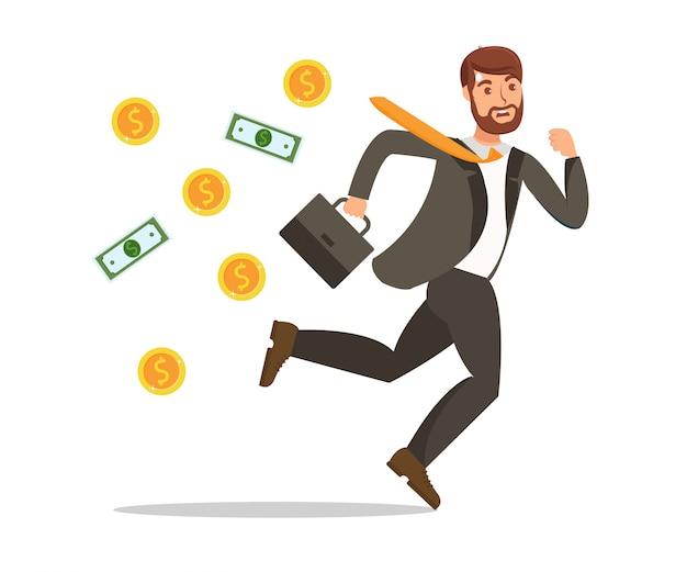 Financieel probleem met verlies van geld