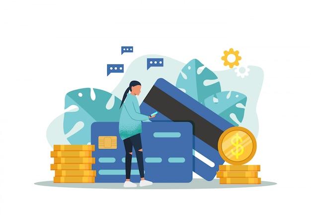 Financiële bedrijfsconcept. winstgroei strategie. het muntstukgeld van de voorraadgrafiek vertegenwoordigt winst van zaken