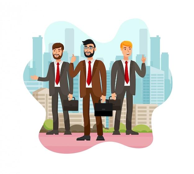 Financiële coaching juridisch advies illustratie
