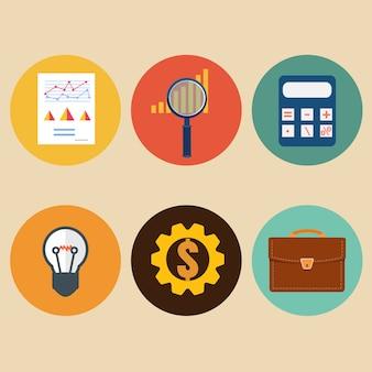 Financiële examinator. economische statistiek