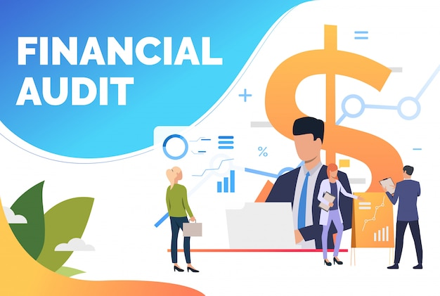 Financiële experts analyseren diagrammen