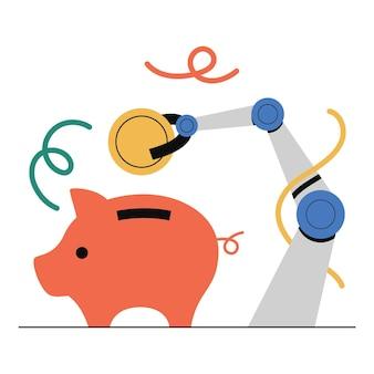 Financiële planning, sparen, automatisch sparen, investeren.