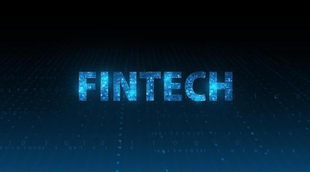 Financiële technologie concept zakelijke investering bankieren betaling