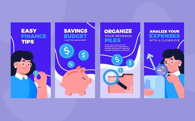 Financiën tips instagramverhalen