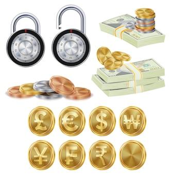 Financiën veilig concept