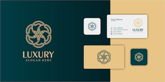 Firefly-logocollectie met lijnkunststijl