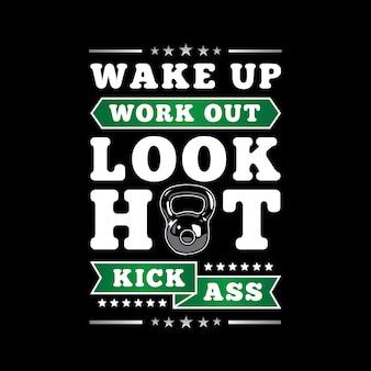 Fitness citaat