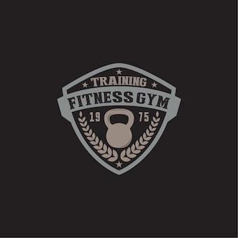 Fitness & gym logo badge