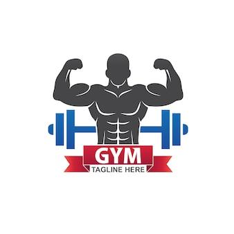 Fitness gym-logo