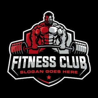 Fitness logo ontwerp