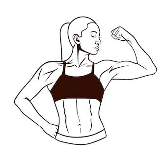 Fitness meisje
