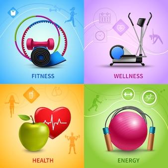 Fitness pictogrammen instellen
